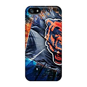 Tpu Shockproof/dirt-proof Chicago Bears Cover Case For Iphone(6 PLUS)