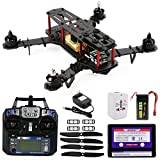 XCSOURCE OCDAY QAV250 FPV Carbon Fiber Quadcopter Helicopter+Controller+Battery RTF RC180