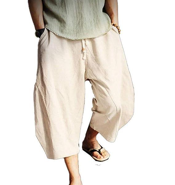 Huixin Pantalones De Haren Pantalones De Transpirables Vintage De