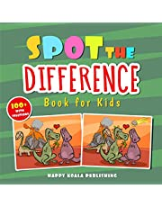 Spot the difference Book for Kids: Over 100 Challenging illustrations for hours and hours of Search&Find Fun for Kids of all Ages. SPECIAL GIFT INSIDE!!!