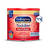 Enfagrow PREMIUM Toddler Next Step, Natural Milk Flavor - Powder Can,...