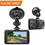 iGOKU Dash Cam 1080P Full HD 1920x1080, 170° Wide Angle, 3.0 LCD Car Video Recorder Camera with Built-in G-Sensor, Night Vision, Loop Recording, Parking Monitoring, WDR, Vehicle Driving Recorder DVR