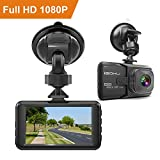 iGOKU Dash Cam 1080P Full HD 1920x1080, 170° Wide Angle, 3.0'' LCD Car Video Recorder Camera with Built-in G-Sensor, Night Vision, Loop Recording, Parking Monitoring, WDR, Vehicle Driving Recorder DVR