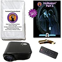 AtmosFearFX Hollusion 1 Compilation Video - 800 x 480 Resolution Projector Kit on USB. Includes effects from Bone Chillers, Ghostly Apparitions, Macabre Manor and Phantasms