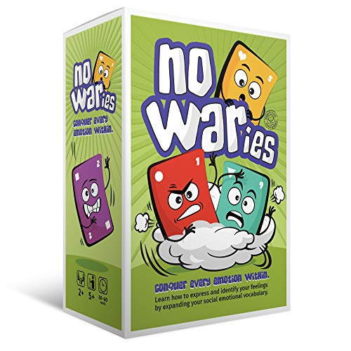 Social Emotional Games NoWaries S.T.O.R.M. | Best Educational Learning Resources for Kids & Adults | Emotional Awareness, Control, & Vocabulary | Fun for School & Therapy | Pack of 110 Playing Cards -