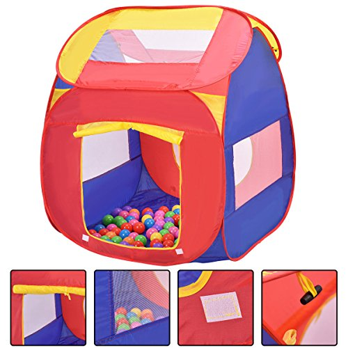 Portable Kid Baby Play House Indoor Outdoor Toy Tent Game Playhut 100 -