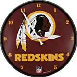 Washington Redskins Round Wall Clock