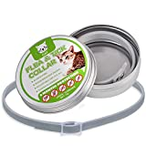 Fullsexy Flea and Tick Collar - Adjustable & Waterproof Flea and Tick Control Collar for Dog and Cat with Natural Essential Oil