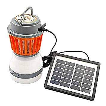 2IN1 Enkeeo Moskito Zapper Lantern Camping Lampe Wasserdicht Wiederaufladbar EU