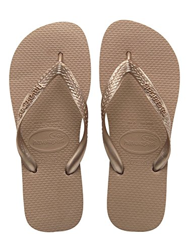 Gold Rose femme Metalic Havaianas Tongs Homme Top Yx76f