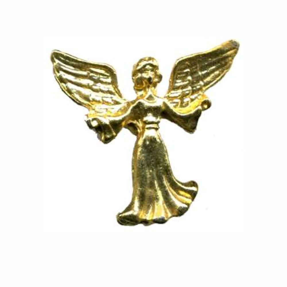 Guardian Angel Pin Outstreatched Arms, Gold Family Pack of 4 Pins 9354-4