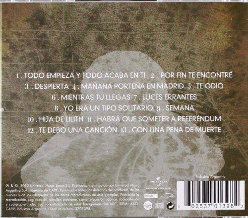 ISMAEL SERRANO - Todo Empieza y Todo Acaba en Ti - Amazon.com Music c1d86d43386e