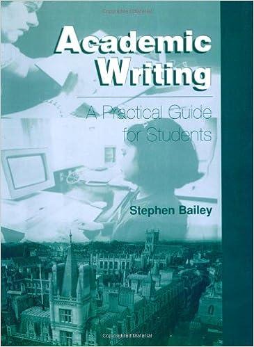 Academic writing handbook
