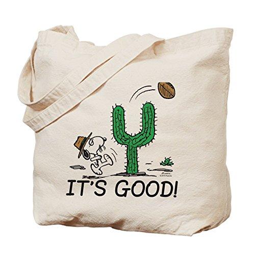 CafePress–The Peanuts Gang: Spike–Gamuza de bolsa de lona bolsa, bolsa de la compra