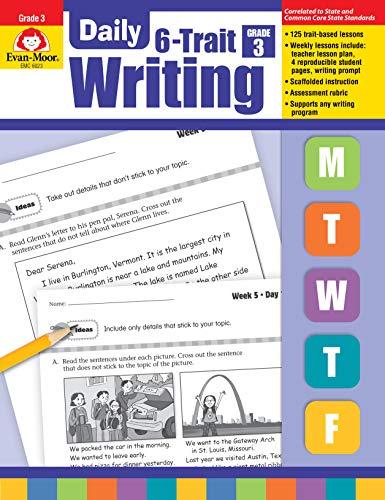 - Evan-Moor Daily 6-Trait Writing, Grade 3