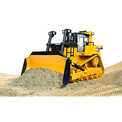 Bruder CAT Large Track Type Tractor: Toys & Games