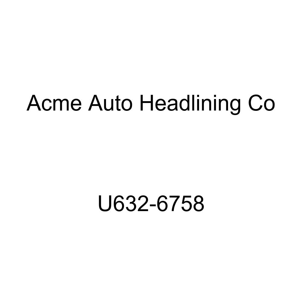 Acme U632-6758 Light Gray Vinyl Front Bucket and Rear Bench Seat Upholstery