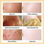Blackhead Remover Mask, Blackhead Peel off Mask, Peel off Face Masks,24K Gold Facial Mask- Anti-Aging,Exfoliating Mask, Deep Cleansing Blackhead& Pore,Reduces Fine Lines& Wrinkles-120g