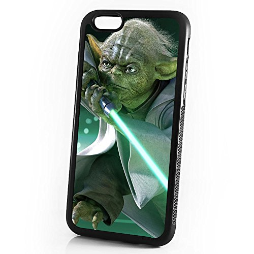 ( For iPhone 6 Plus / iPhone 6S Plus ) Durable Protective Soft Back Case Phone Cover - A11058 Starwars Yoda