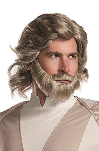 Rubie's Adult Star Wars Episode VIII: The Last Jedi, Luke Skywalker Costume Accessory Kit, As Shown, One (New Costumes 2017)