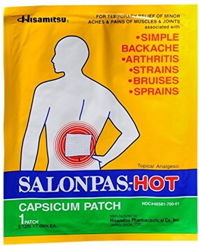 Top back pain patches japan for 2019