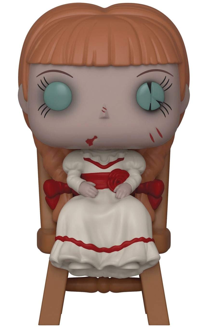 Funko Horror: Annabelle Comes Home Vinyl Figure Annabelle in Chair Pop Includes Compatible Pop Box Protector Case