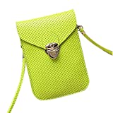 Functional Roomy Pocket Small Crossbody Bag Cell Phone Purse Wallet For Women
