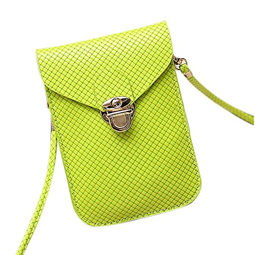 Functional Roomy Pocket Small Crossbody Bag Cell Phone Purse Wallet For Women by She25