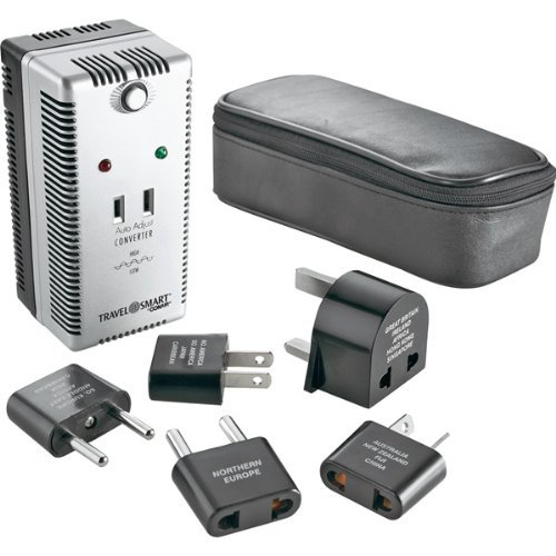 Travel Smart by Conair 2000-Watt Auto Adjust Smart Converter/Adapter Set Auto Adjust Smart Converter