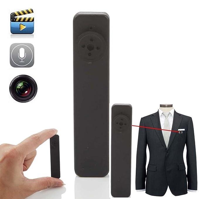 Electro-Weideworld - 8GB Mini Botón de la Cámara Espía Usable Grabadora de Vídeo con Función de Grabación de Audio: Amazon.es: Electrónica