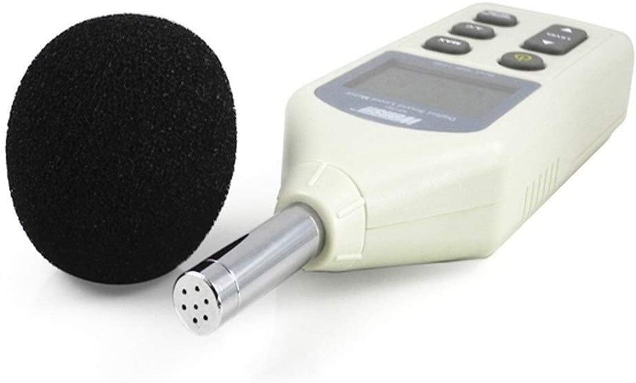 Luckya WS1361C Digital Sound Level Meter,Decibel Meter,Noise Meter Digital LCD Sound Level Meter 30-130dB USB with SD Card