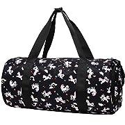 Choco Mocha Unicorn Duffle Bags for Girls Kids Overnight Bags for Girls Unicorn Weekend Travel Bag Kids Weekender Bag…