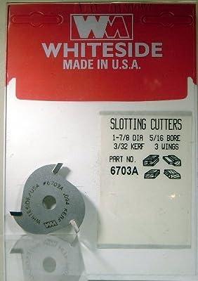 Whiteside Router Bits 6703A Slotting Cutter