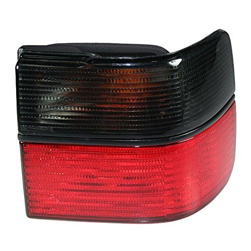 RH Quarter Mounted Red/Smoke Brake Light Taillight Right RH for 93-99 VW (97 98 99 Jetta Tail)