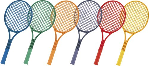 Champion Sports 21-Inch Plastic Tennis Racquet Set