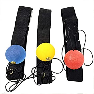 Doublele Silicone Boxe Combat R/éaction Ball Boxers Speed Ball Magic Training pour Sports Fitness