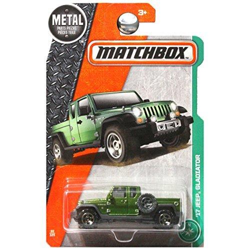 Matchbox 2017 MBX Explorers '17 Jeep Gladiator 92/125, Green