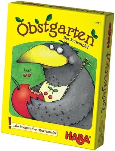 HABA 4713 Obstgarten - Juego de Cartas Infantil sobre Frutas (en alemán): Amazon.es: Juguetes y juegos