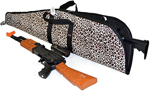 - Explorer Women's Animal Pattern Hunting Gear Leopard Zebra Rifle Case Camping Gear Mossy Oak Backpack ACU Handgun Soft Case (Leopard)