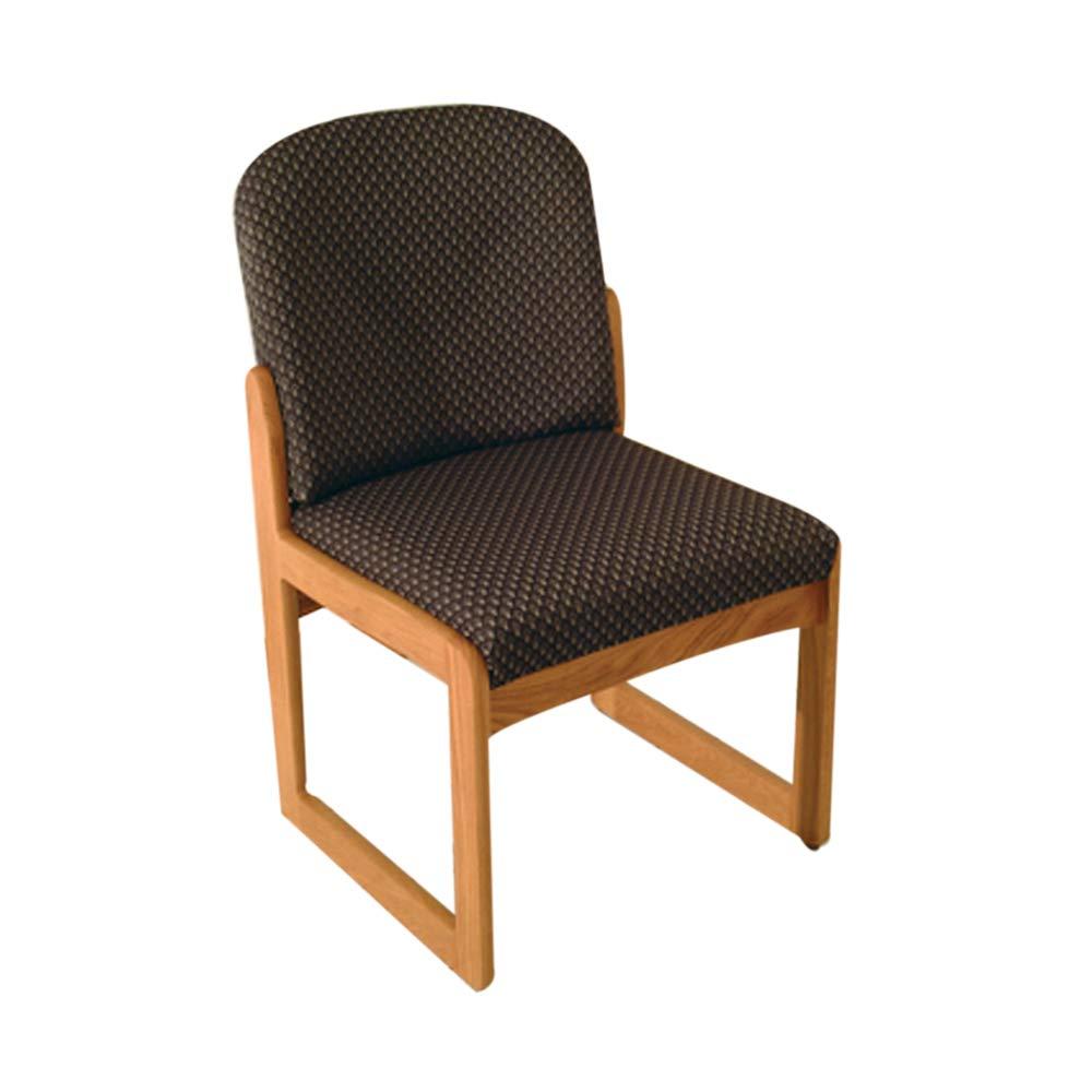 Amazon.com: Silla de madera de mazo Dakota Prairie sin brazo ...