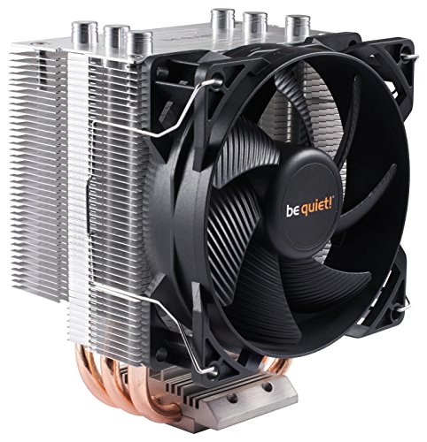be quiet! BK008 Pure Rock Slim - CPU Cooler - 120W TDP- Intel LGA 775 / 1150 / 1155 / 1156 & AMD Socket AM2(+) / AM3(+) / AM4 / FM1 / - Rock Dark