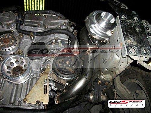 Amazon.com: REV9 COMPLETE BOLT ON T3 60-1 TURBO CHARGER KIT FOR 03-06 350Z Z33/G35 VQ35DE: Automotive