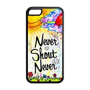 6 plus (5.5) Phone Cases, Never Shout Never Hard Cover Case for iPhone 6 plus (5.5) Designed by HnW Accessories