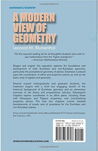 Workbook coordinate plane worksheets that make pictures : A Modern View of Geometry (Dover Books on Mathematics): Leonard M ...