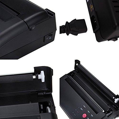 Black Professional Tattoo Transfer Stencil Machine Thermal Copier Printer (#1) by Z ZTDM (Image #2)