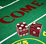 Set of 5 Authentic Las Vegas Casino Table-Played