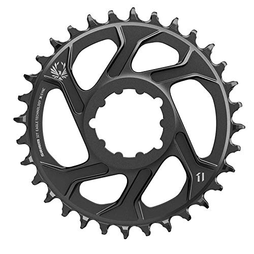 SRAM X-Sync 2 Eagle 12-Speed Direct Mount Oval Chainring - Boost Black, 34T/3mm Offset - Sync Black