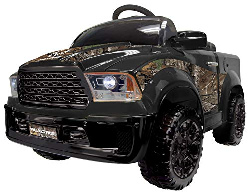 Best Ride On Cars Realtree Truck 12V- Black