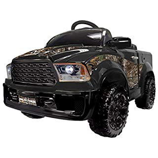 Best Ride On Cars Realtree Truck 12V- Black