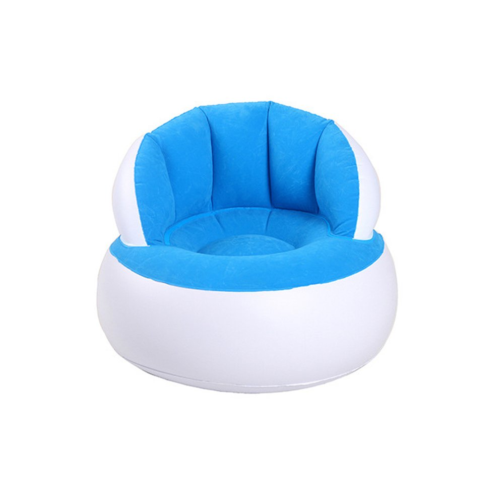 Yy Store Shell Inflatable Flocked Sofa Leisure Inflatable Seat Parent-child
